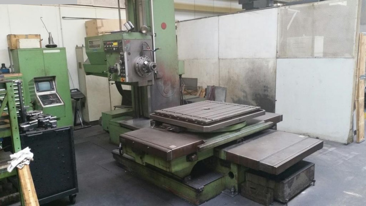 used Boring mills / Machining Centers / Drilling machines Table Type Boring and Milling Machine TOS WH 10 NC