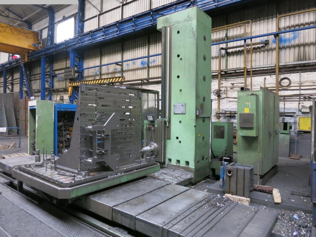 used Boring mills / Machining Centers / Drilling machines Table Type Boring and Milling Machine TOS WHN 13.8