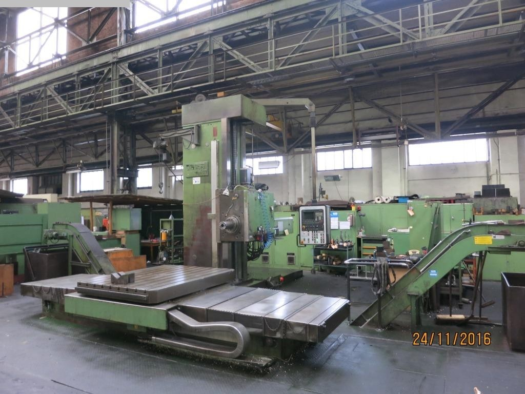 used Boring mills / Machining Centers / Drilling machines Table Type Boring and Milling Machine WOTAN Rapid 3