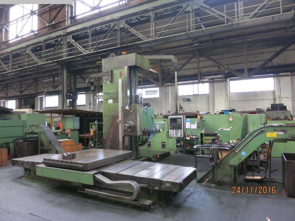 gebrauchte Bohrwerke / Bearbeitungszentren / Bohrmaschinen Tischbohrwerk WOTAN Rapid 3