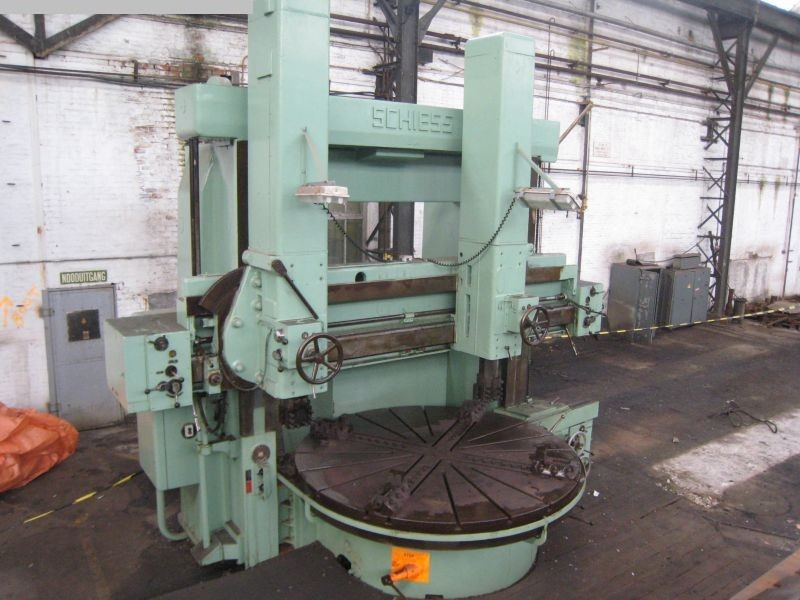 used Vertical Turret Lathe - Double Column SCHIESS KZ 250