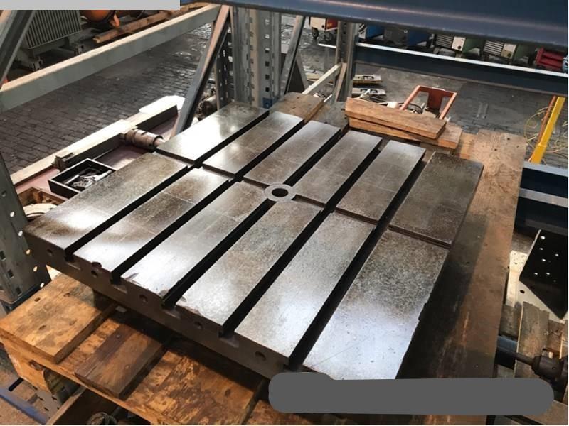 Autres accessoires pour machines-outils d'occasion Table de serrage PEISELER Tfh 520 / 630 Teiltisch