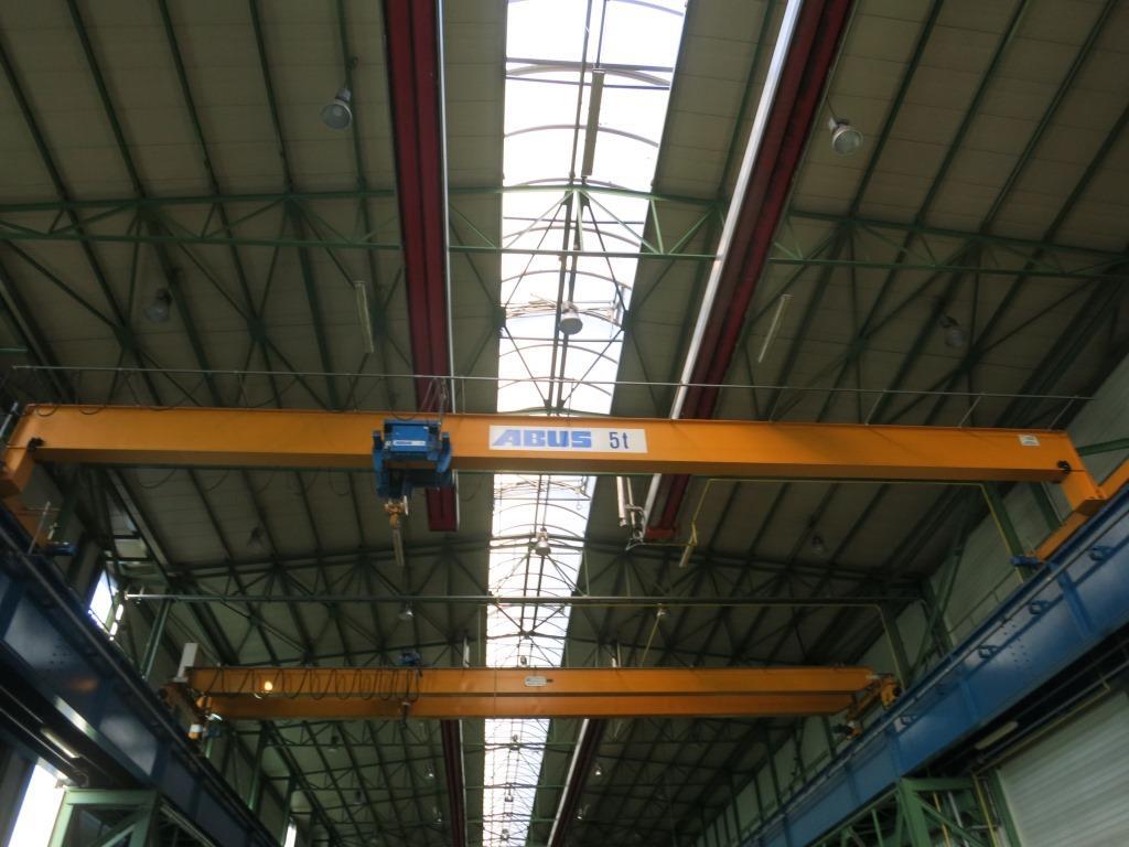 gebrauchte verschiedene Einrichtungen Brückenlaufkran - Einträger ABUS 5 Tonnen