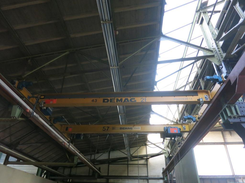 gebrauchte verschiedene Einrichtungen Brückenlaufkran - Einträger Demag