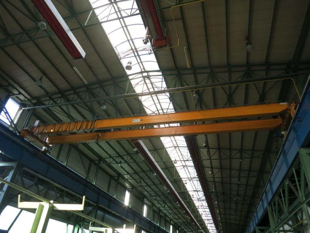 gebrauchte verschiedene Einrichtungen Brückenlaufkran - Einträger Gebr. Dickertmann L 5265