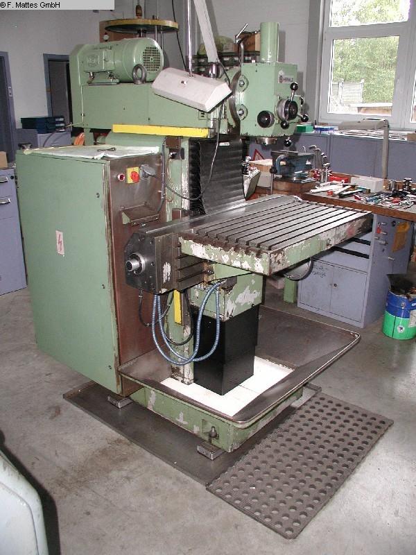 gebrauchte  Werkzeugfräsmaschine - Universal HERMLE UWF 801
