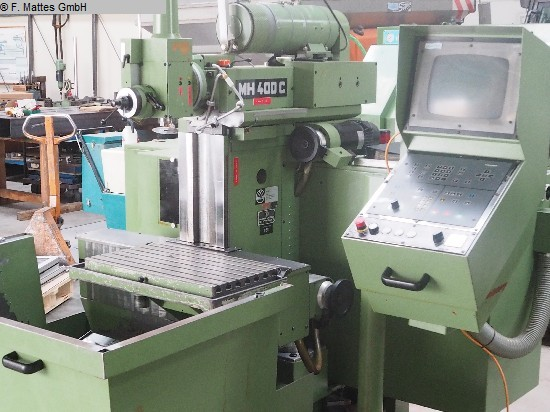 used Universal Milling and Boring Machine MAHO MH400C