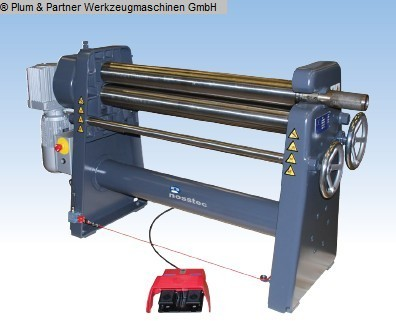 Plate Bending Machine - 3 Rolls