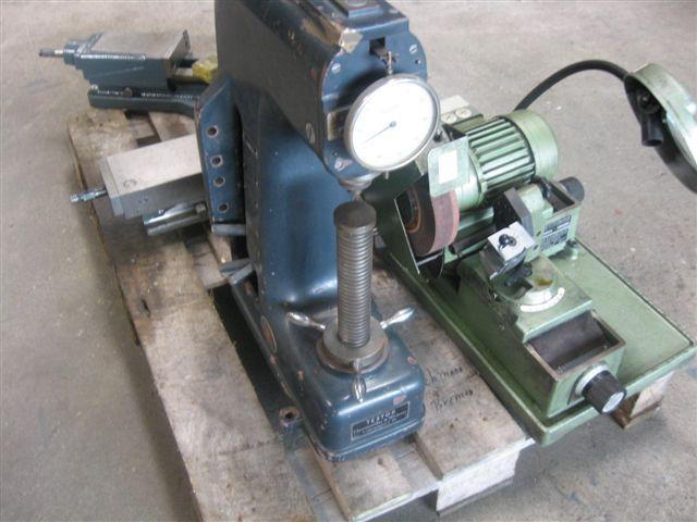 gebrauchte Maschine Härteprüfer WOLPERT Testor - HT 1