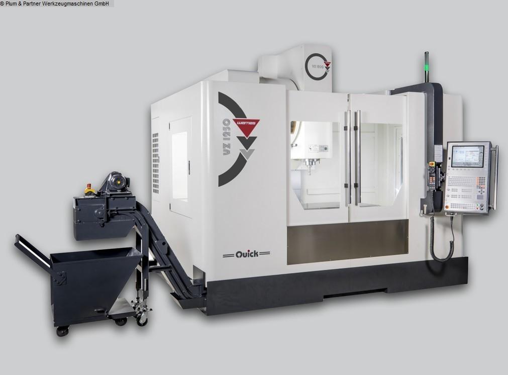 gebrauchte Fräsmaschinen Bearbeitungszentrum - Vertikal WEMAS VZ 1250 Quick