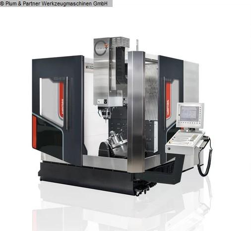 gebrauchte Fräsmaschinen Bearbeitungszentrum - Universal WEMAS VZG 65-5A Generation II