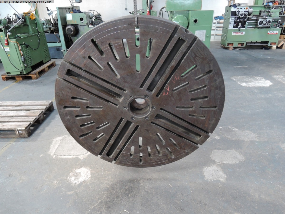 used Machines available immediately Faceplate Fabr. Unbekannt/unknown