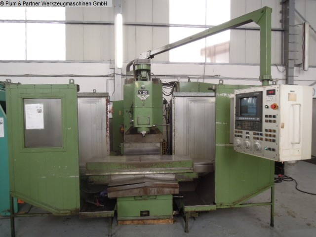 used Machines available immediately Milling Machine - Vertical WANDERER VF 20-2 / Grundig Manual Plus
