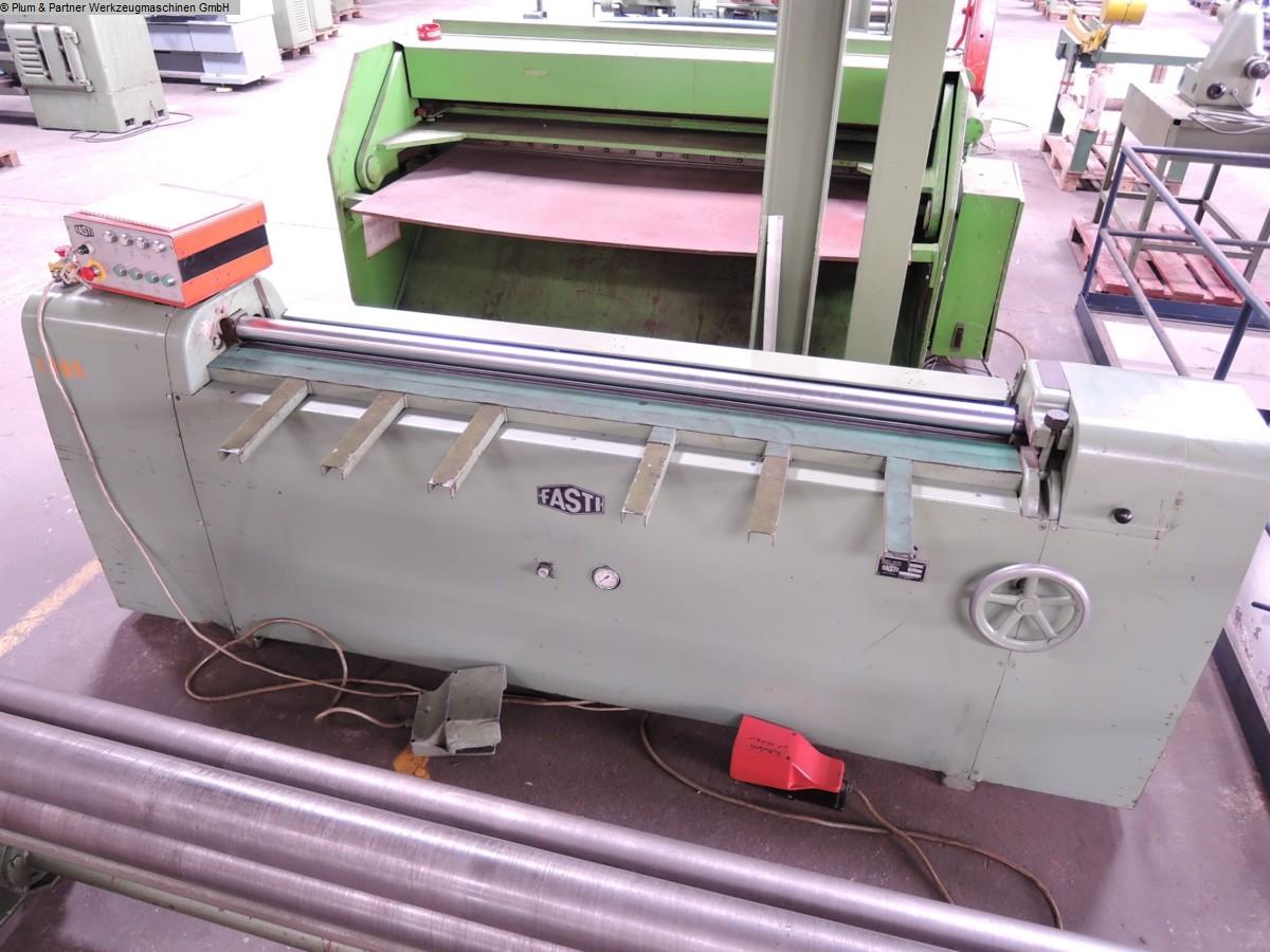 gebrauchte Maschinen sofort verfügbar Dreiwalzen - Blechbiegemaschine FASTI 1041 (Sonder-)