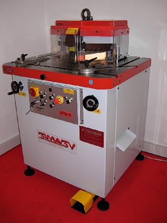 used Sheet metal working / shaeres / bending Notching Machine SIMASV AV 226/PA (variabel + locht)