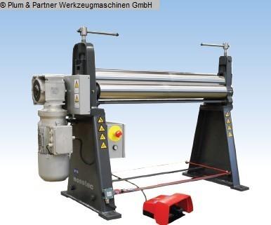 used Plate Bending Machine - 3 Rolls NOSSTEC ( LUNA ) 8264-10/35