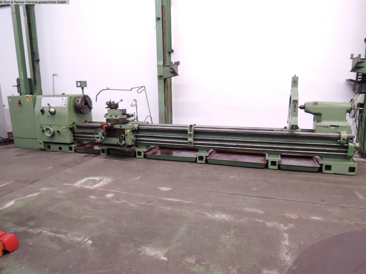 gebrauchte  Leit- und Zugspindeldrehmaschine WOHLENBERG V 1000