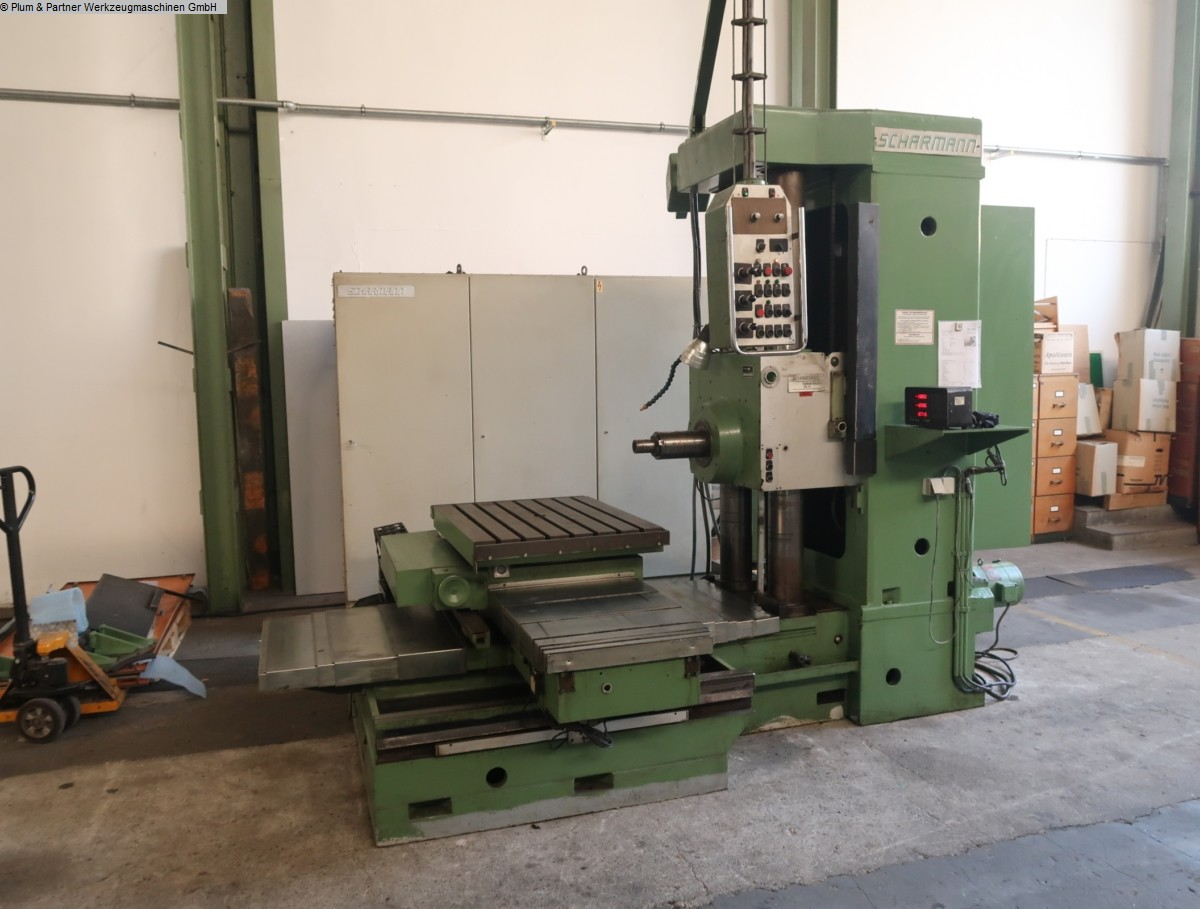 used  Table Type Boring and Milling Machine SCHARMANN FB 75 Opticut - Digi