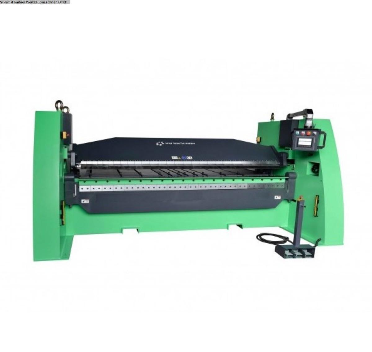 gebrauchte Blechbearbeitung / Scheren / Biegen / Richten Schwenkbiegemaschine HM Machinery HBM 3100-65S