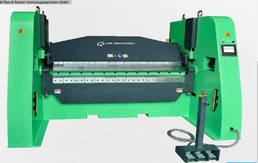gebrauchte Blechbearbeitung / Scheren / Biegen / Richten Schwenkbiegemaschine HM Machinery MBM 2000 - 25