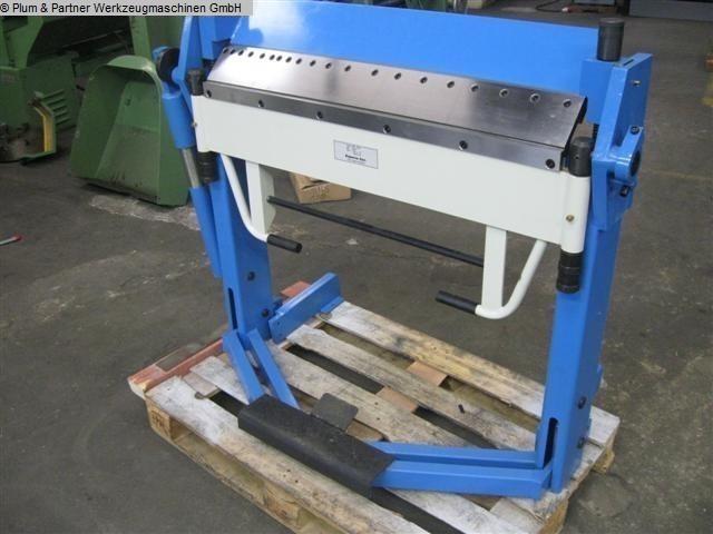 gebrauchte Blechbearbeitung / Scheren / Biegen / Richten Schwenkbiegemaschine KAPEMA KFS 1025