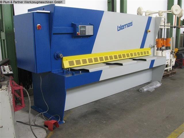 gebrauchte Blechbearbeitung / Scheren / Biegen / Richten Tafelschere - hydraulisch BLEMAS (Hera) TK 3006 C (Ausstellungsmasch.)