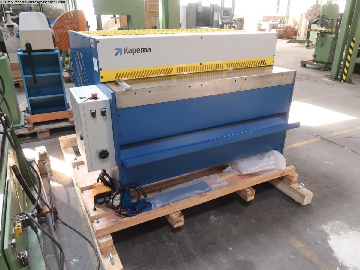 gebrauchte Blechbearbeitung / Scheren / Biegen / Richten Tafelschere - mechanisch KAPEMA SMP 12-30