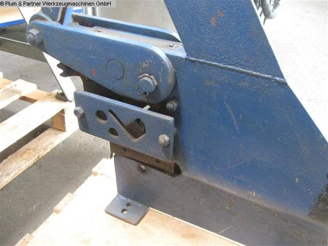 used Hand-Lever Shear Fabr. UNBEKANNT/NOT KNOWN -