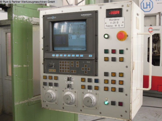 used Milling Machine - Vertical WANDERER VF 20-2 / Grundig Manual Plus
