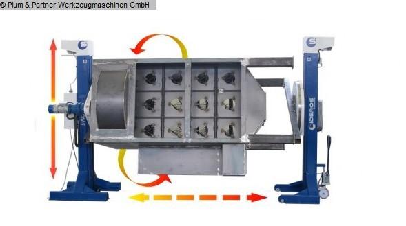 gebruikte lasmachines Roterende tafel SIDEROS Syncrolift SLC 20