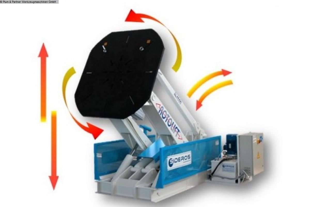gebruikte lasmachines Roterende lastafel - rond oppervlak SIDEROS Rotolift RL 1250 EL MR