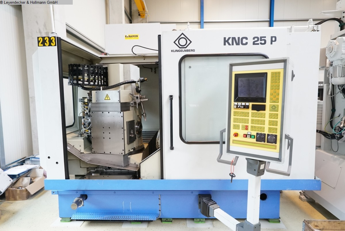 Machines à tailler les engrenages Générateur d'engrenages coniques à spirales KLINGELNBERG KNC 25 P