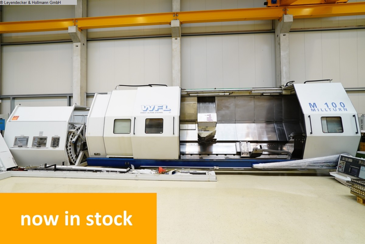 used  CNC Turning- and Milling Center WFL-MILLTURN M100 x 5000