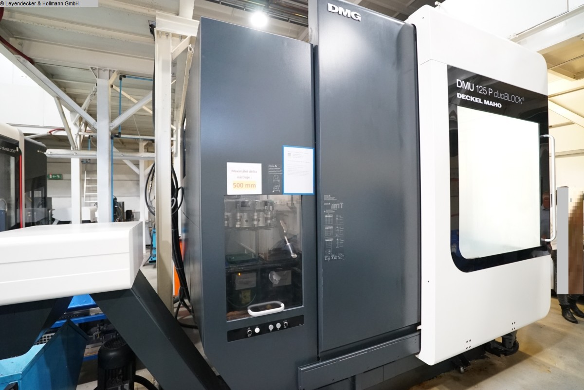 used  Milling Machining Centers 5 Axis DECKEL-MAHO (DMG) DMU 125P