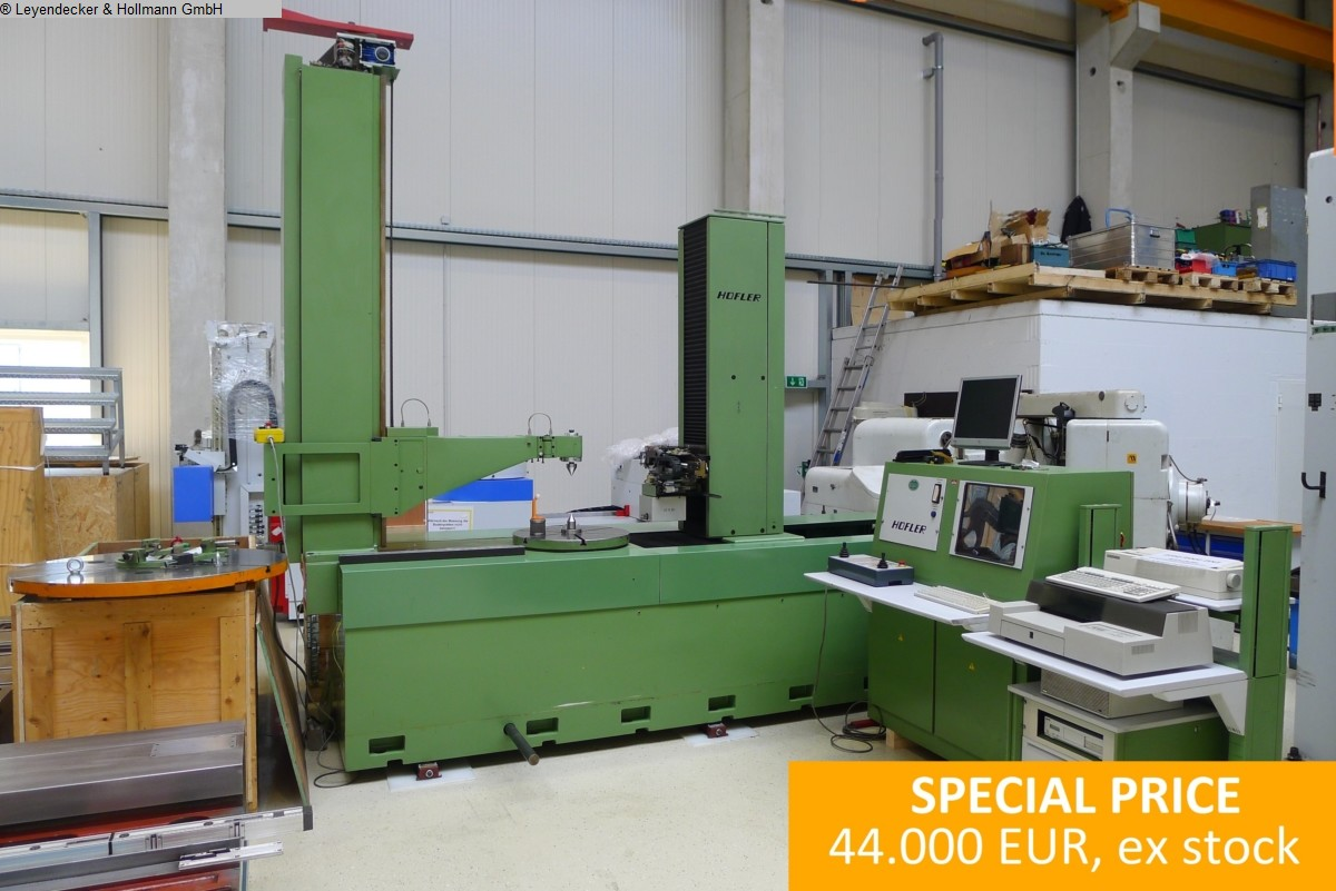 used Machines available immediately Gear Testing Machine HÖFLER EMZ 2002 / 2602