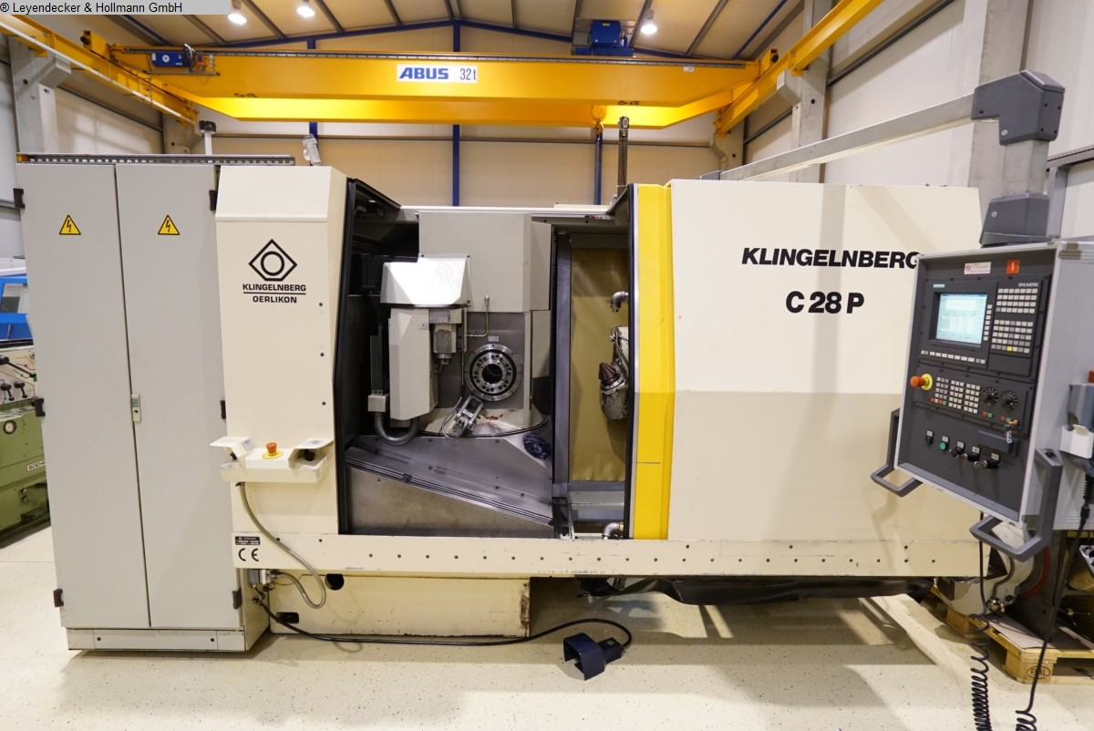 used Gear cutting machines Spiral Bevel Gear Cutting Machine KLINGELNBERG C 28 P