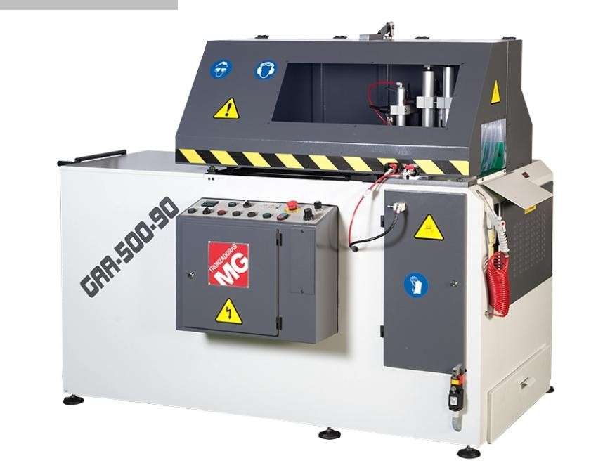 máquina usada Aluminio Circular Sierra Tronzadoras GAA 600 90 °