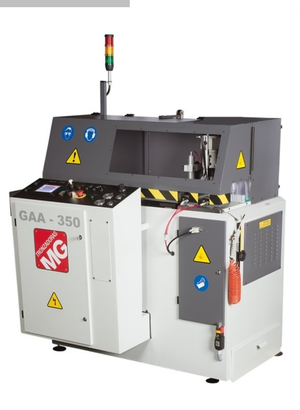 máquina usada Aluminio Circular Sierra Tronzadoras GAA 350 90 ° CNC