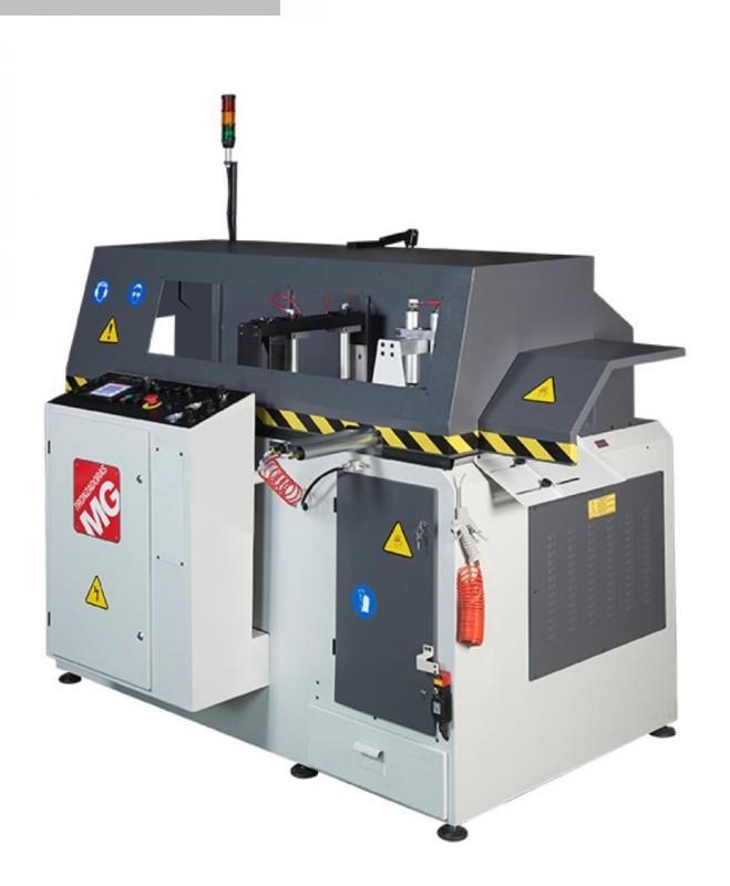 máquina usada Aluminio Circular Sierra Tronzadoras GAA 500 90 ° CNC