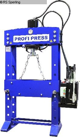 Photo 1  PROFI PRESS PP 30 M/H-2 motor/handbetrieb