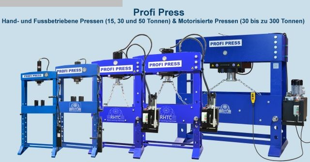 Photo 2  PROFI PRESS PP 30 M/H-2 motor/handbetrieb