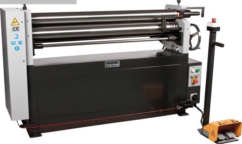 gebrauchte Maschine Blechbiegemaschine - 3 Walzen HUVEMA HU W 1300 x 4,5