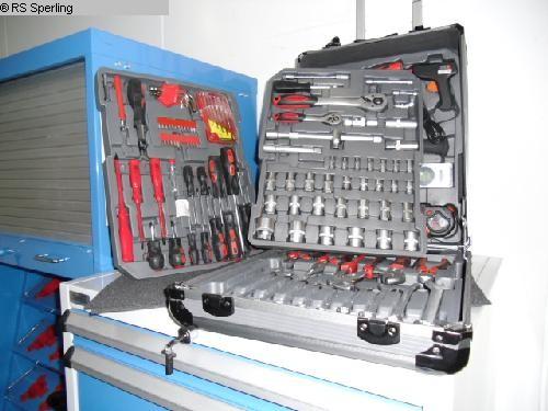 gebrauchte Maschine  WERKZEUGKOFFER 186-teilig