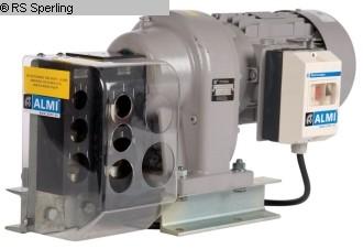 gebrauchte Blechbearbeitung / Scheren / Biegen / Richten Ausklinkmaschine ALMI AL 1-2 E