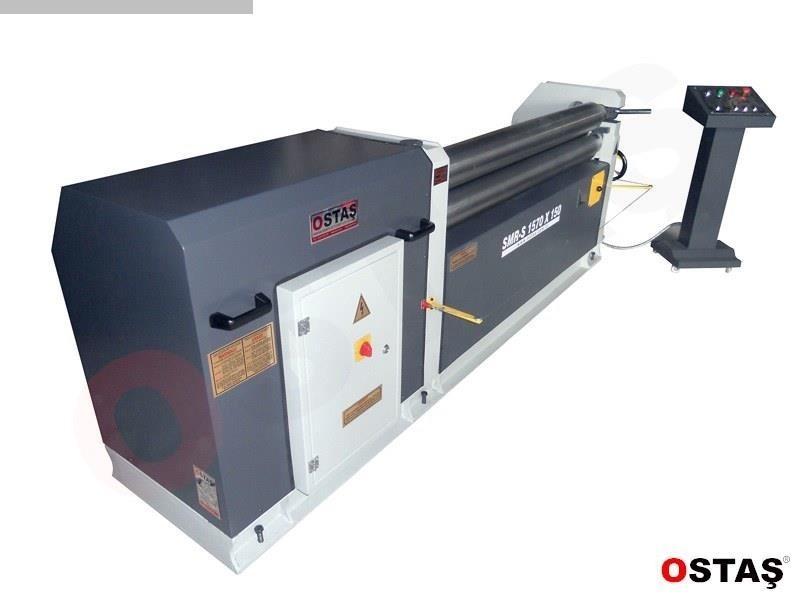 gebrauchte Blechbiegemaschine - 3 Walzen OSTAS SMR-S 2070 x 3/4
