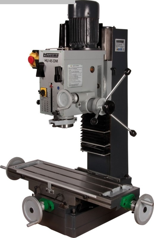 gebrauchte Bohr- und Fräsmaschine HUVEMA HU 45 DM-2