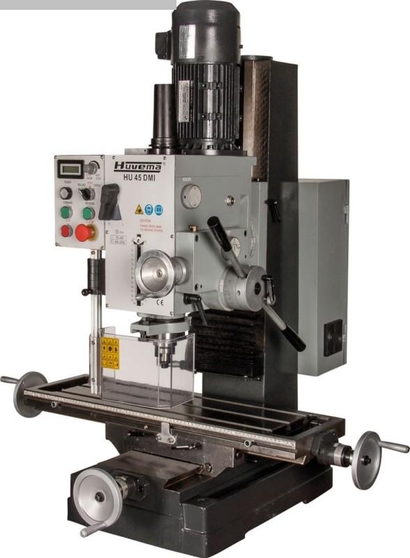 gebrauchte Bohr- und Fräsmaschine HUVEMA HU 45 DMI-4