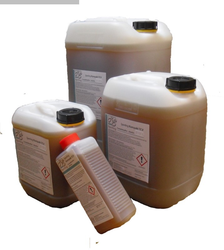 used Chemical technical products Cooling lubricant / coolant emulsion Sperling TCV Kühlschmierstoff 5l