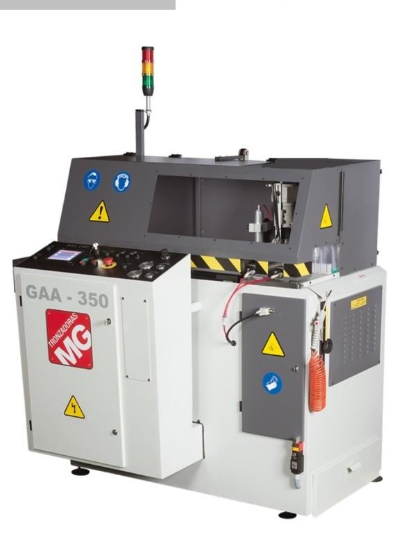 Seghe circolari in alluminio usate Tronzadoras GAA 350 90 ° CNC