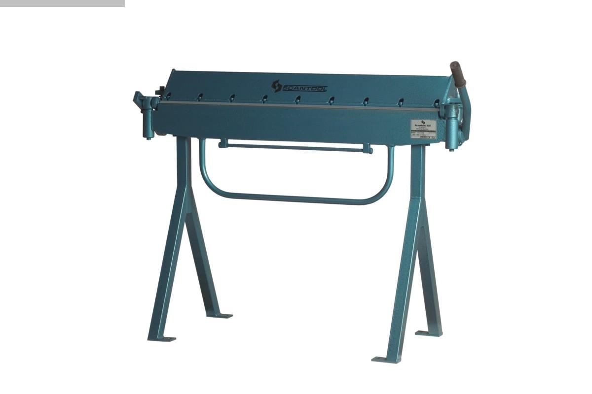 used Sheet metal working / shaeres / bending Folding Machine SCANTOOL SCB 1050